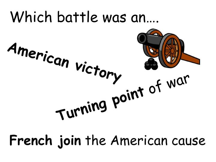 Which battle was an….