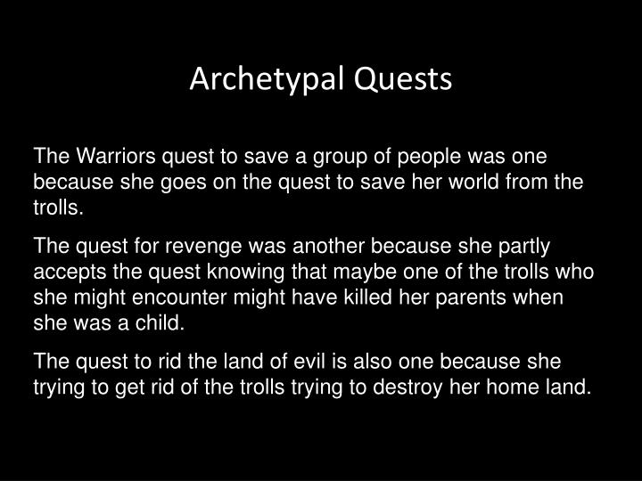 Archetypal Quests