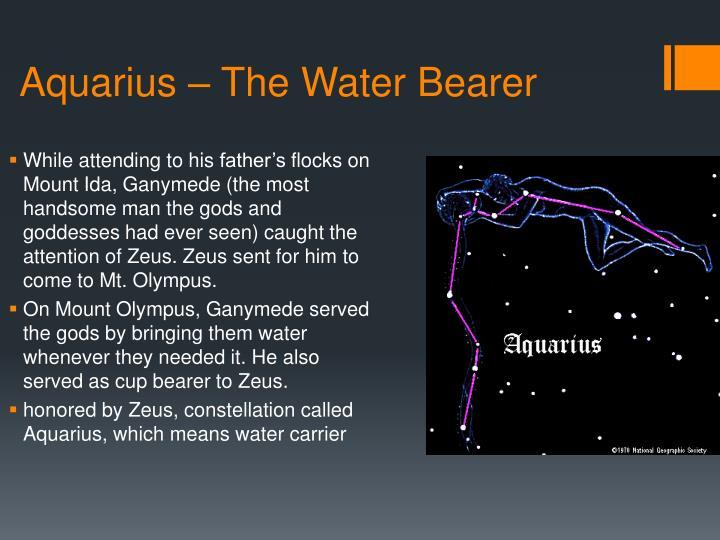 Aquarius – The Water