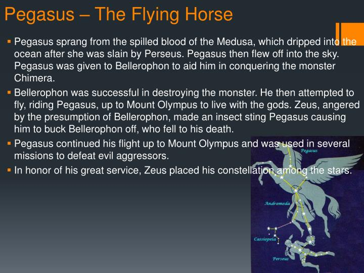 Pegasus – The Flying Horse
