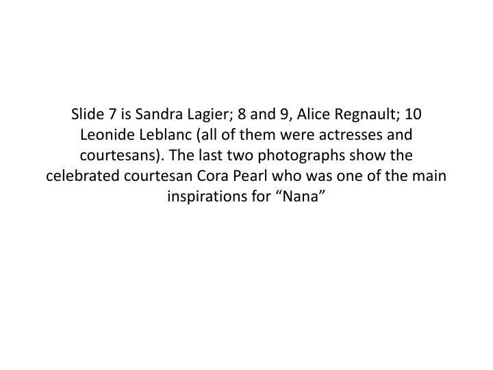 Slide 7 is Sandra