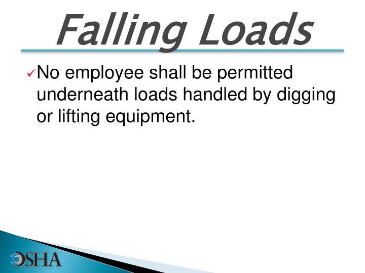 Falling Loads