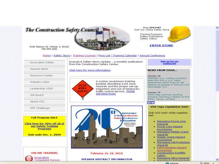 http://www.buildsafe.org/