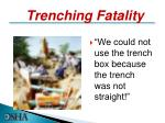 trenching fatality