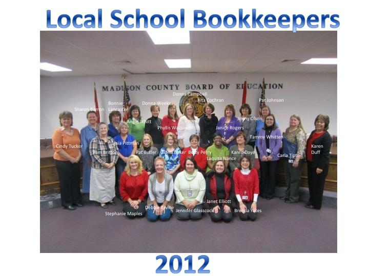 Local School Bookkeepers