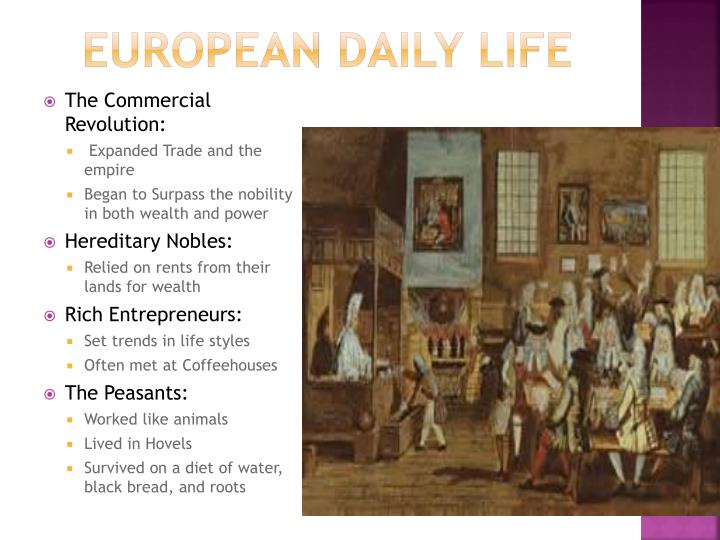 European Daily Life