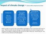 impact of climate change domino effect along the food chain