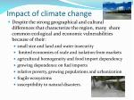impact of climate change1