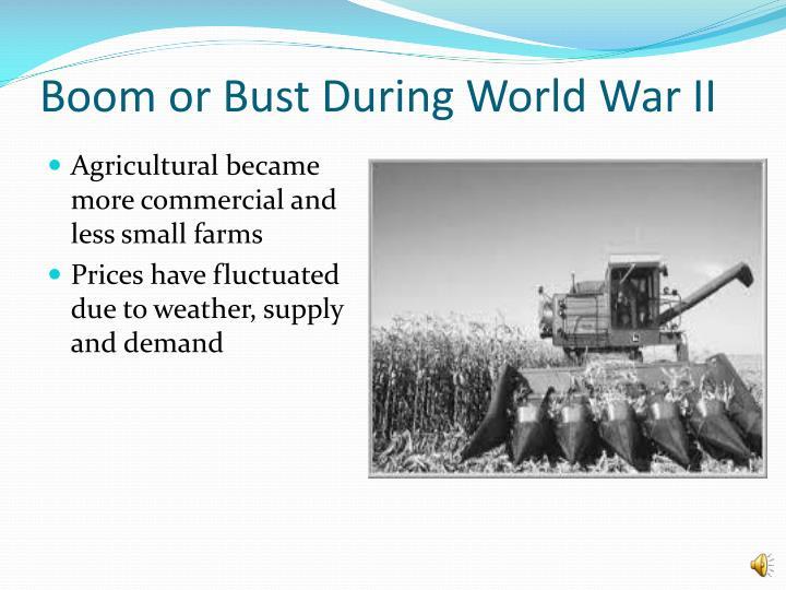 Boom or Bust During World War II