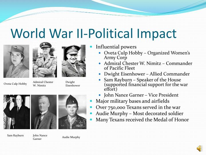 World War II-Political Impact