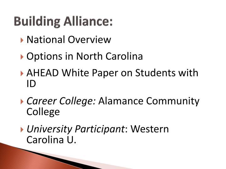Building Alliance