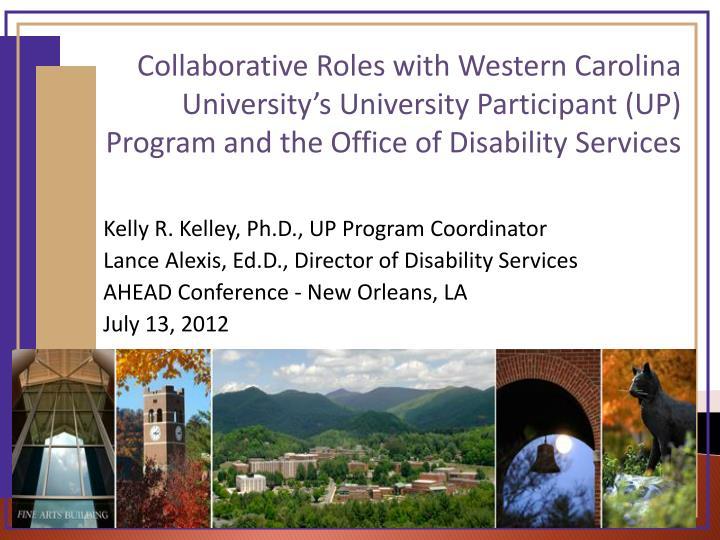 Kelly R. Kelley, Ph.D., UP Program Coordinator