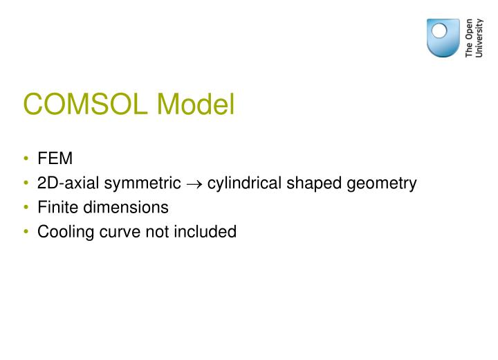 COMSOL Model