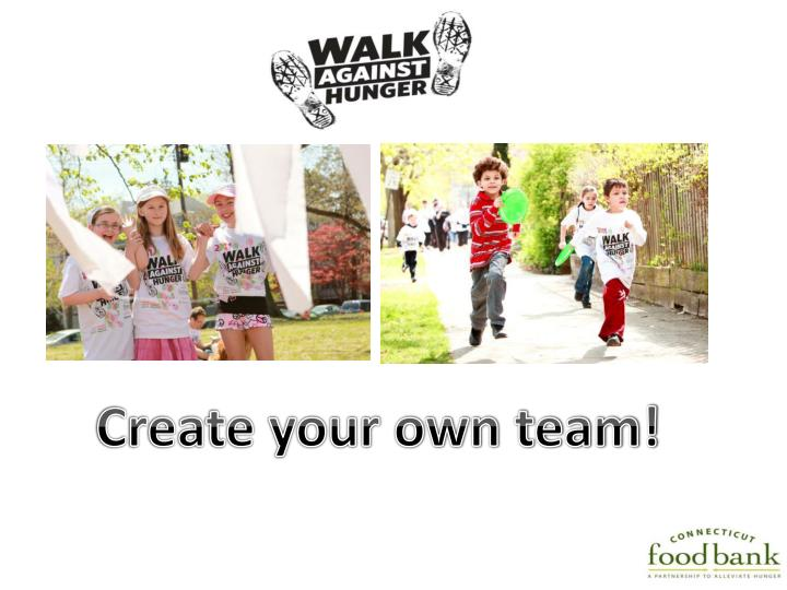 Create your own team!