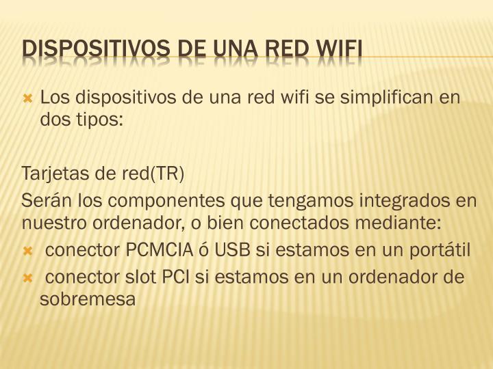 Los dispositivos de una red