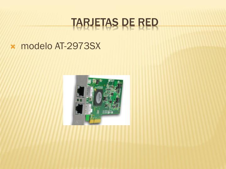 modelo AT-2973SX