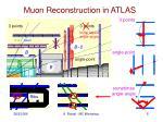 muon reconstruction in atlas
