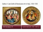 gallery 4 late gothic renaissance art in italy 1350 15502