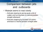 comparison between jets and outboards