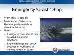 emergency crash stop