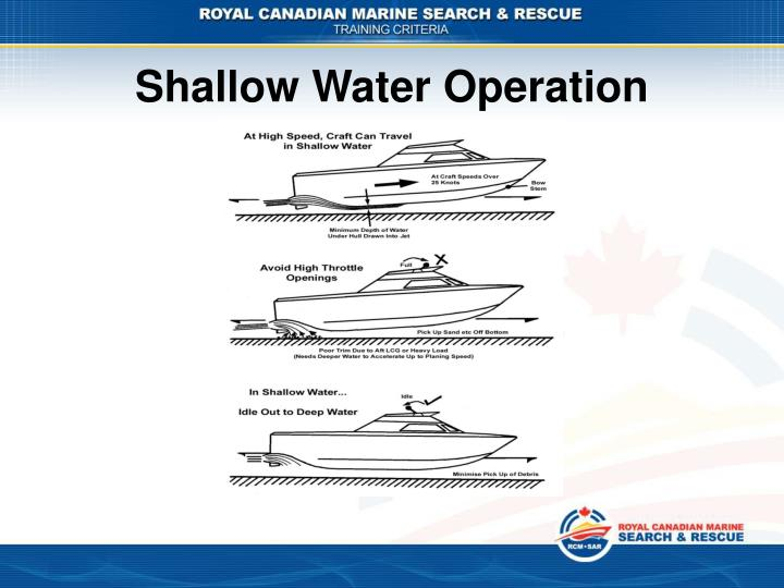 Shallow Water Operation