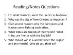reading notes questions