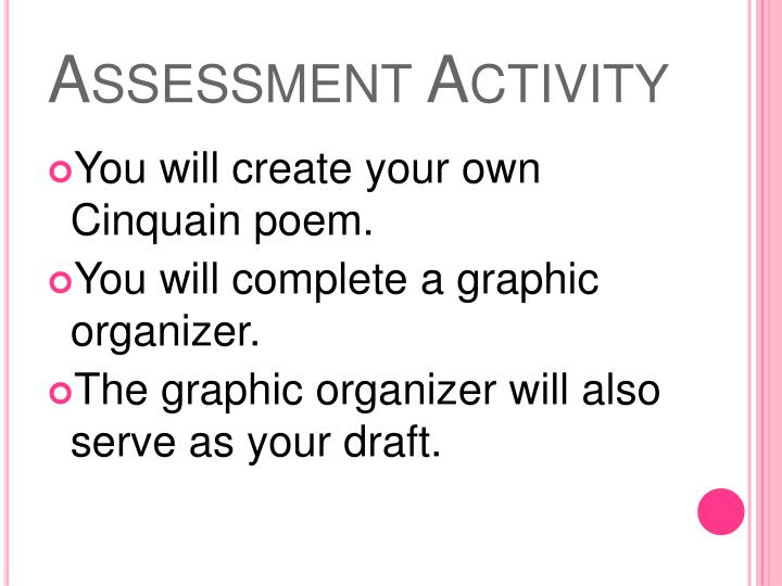 Assessment Activity