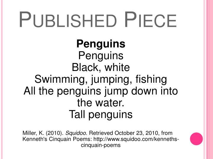 Published Piece