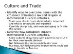 culture and trade2