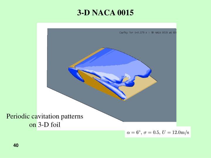 3-D NACA 0015