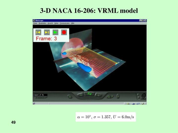 3-D NACA 16-206: VRML model