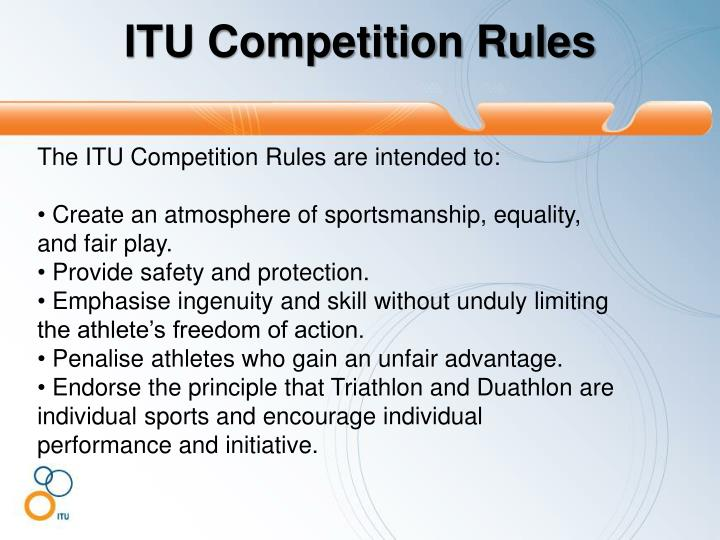 ITU Competition Rules
