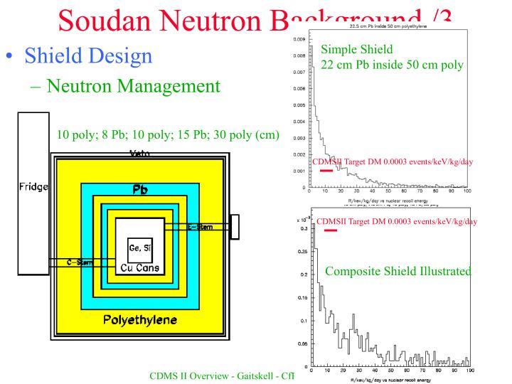 Soudan Neutron Background /3