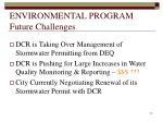 environmental program future challenges