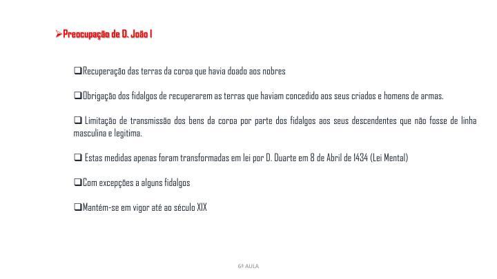 Preocupação de D. João I