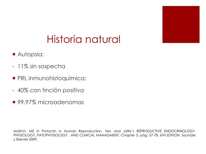 Historia natural