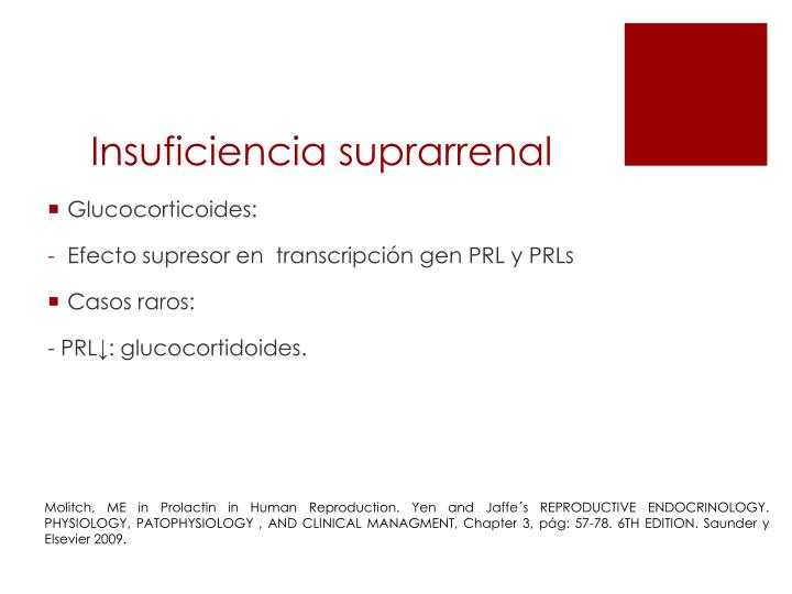 Insuficiencia suprarrenal