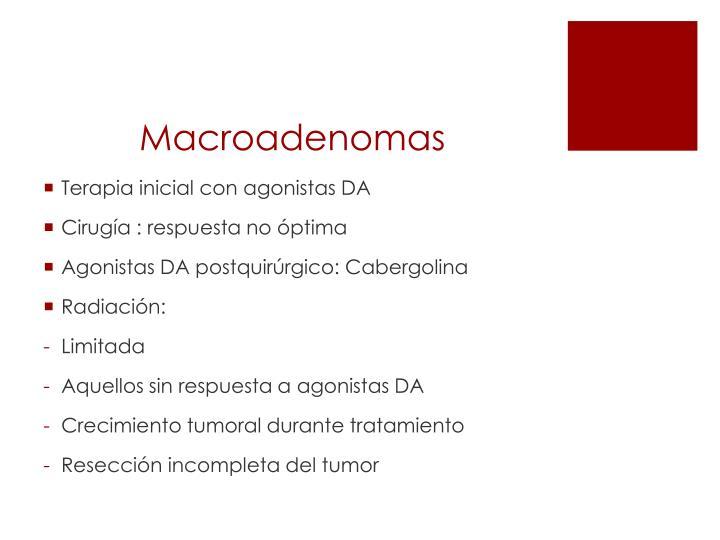 Macroadenomas