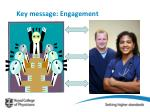 key message engagement
