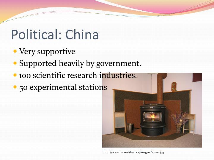 Political: China