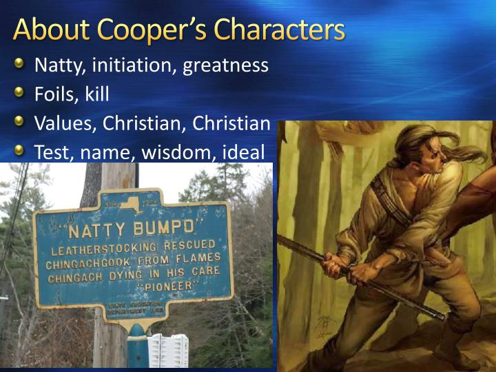 About Cooper's Characters