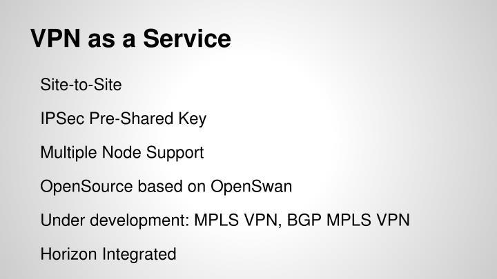 VPN as a Service