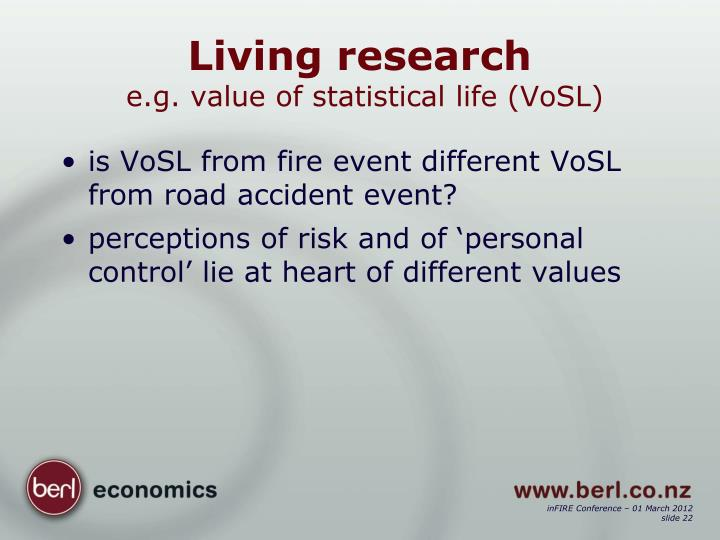 Living research