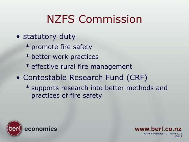NZFS Commission