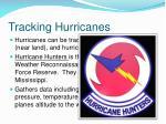 tracking hurricanes