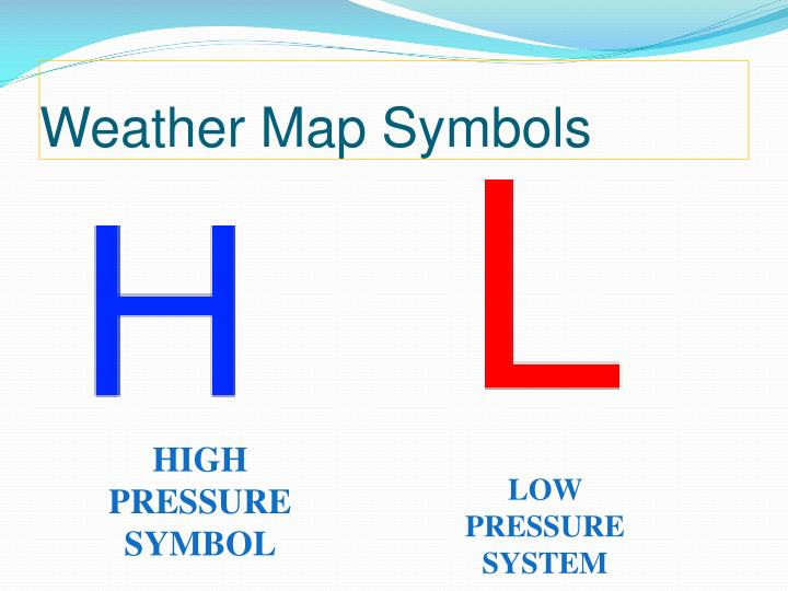 Weather Map Symbols