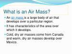 what is an air mass
