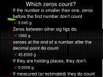 which zeros count