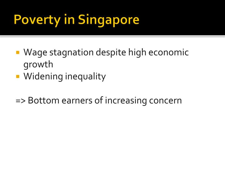 Poverty in Singapore