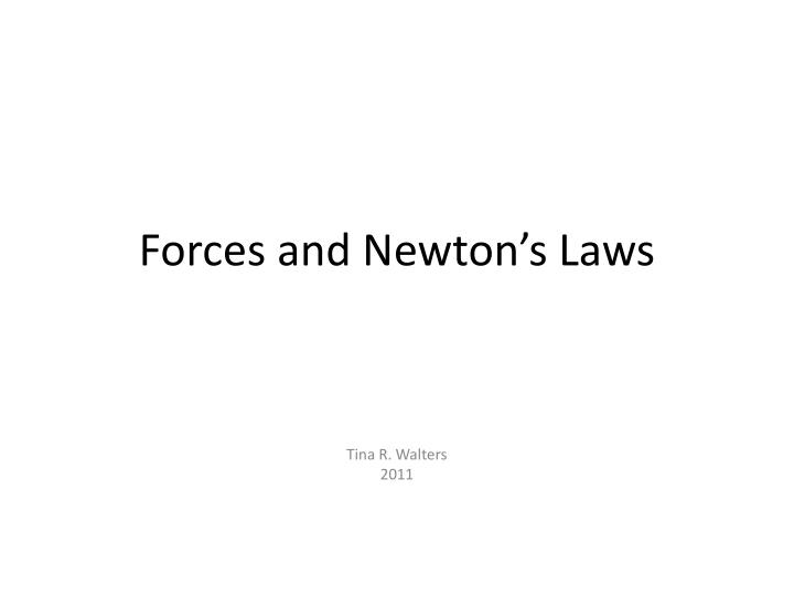 forces and newton s laws